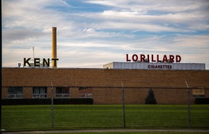 Lorrillard's cigarette manufacturing plant in Greensboro, N.C. Photo: Rob Brown/Greensboro News & Record